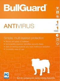 BullGuard Antivirus 1 Device 1 Year PC Key GLOBAL