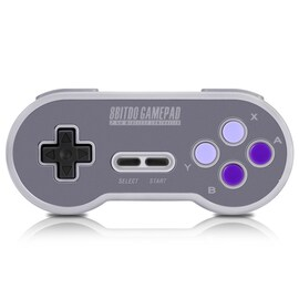 8Bitdo SN30 Gamepad Game Controller Wireless Compact Joystick
