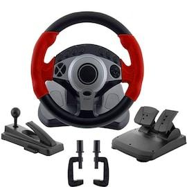900 Degree Racing Games Steering Wheel Computer Learning Car Simulation Driving Machine Full Set