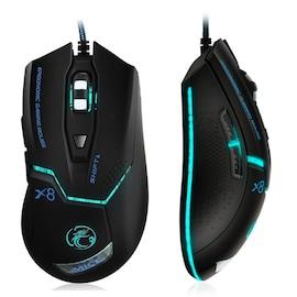 Adjustable Optical Gaming Mouse Ergonomic 3200 DPI Black