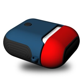 AirPods Silicone Case Protective Cover for Apple Airpod Charging Case Red blue