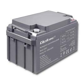 Akumulator Agm Qoltec   12V   65Ah   Max.19.5A
