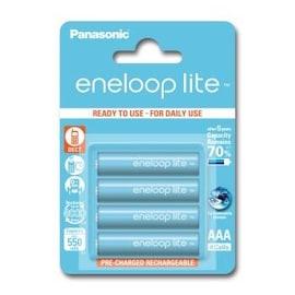 Akumulatorki Eneloop Panasonic Lite Aaa 550 Mah 4 Szt