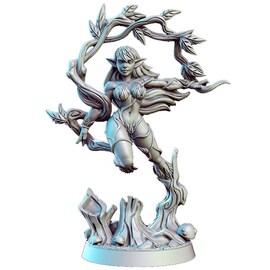 Alura - Elf, Figurka RPG