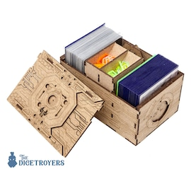 Android: Netrunner - Double Deck and Token holder Organizer