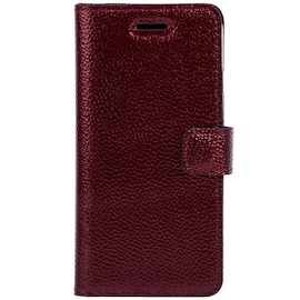 Apple iPhone 5 / 5s / SE- Surazo® Phone Case Genuine Leather- Ferro Red