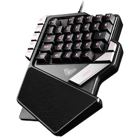 AULA One-Handed Mini Gaming Keyboard Backlight 27 keys Anti-Ghosting