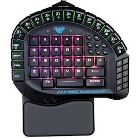 AULA One Handed RGB Merchanical Gaming Keyboard 30 Programmable Keys
