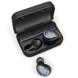 Awei T3 TWS Binaural Bluetooth Earphones Wireless In-ear Stereo Earbuds with Mic and Charging Dock