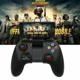 B04 Wireless Bluetooth Gamepad Remote Game Controller Joystick For PUBG Mobile Game Controller For PC TV BOX Smartphones Black