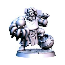Badolff - pirat, Figurka RPG