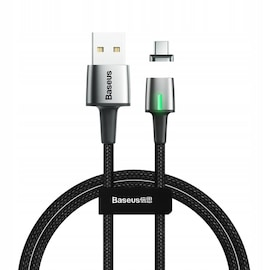 Baseus Zinc Cable USB - Type-C 1m Black Quick Charge 3A CATXC-A01 Black
