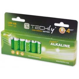 Baterie Alkaliczne Techly 1,5V Aa Lr6 12Szt. Ibt-Kal-Lr06-B12T