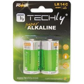 Baterie Alkaliczne Techly 1,5V C R14, 2Szt. Ibt-Kal-Lr14T