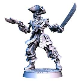 Billy - szkieletor, Figurka RPG