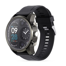 Black Waterproof Smartwatch Sport Smart Watch with Fitness Activity Tracker IP68