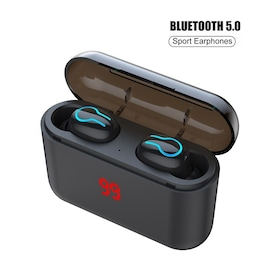 Bluetooth 5.0 Earphone TWS Sport Handsfree Earbuds 3D Stereo Gaming Headset With Charging Box