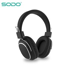Bluetooth casque sur-oreille filaire sans fil Black