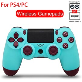 Bluetooth Controller For Playstation 4 Pro, Slim, Standard, PS3 and PC Light Blue