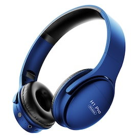 Bluetooth Headset H1Pro with Noise Canceling and Support Memory Cards - Blue