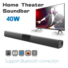 Bluetooth Home Theater HIFI  Column Stereo Bass Soundbar Compatible With All Devices