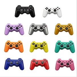 Bluetooth wireless Controller For SONY PS3 Gamepad For Play Station 3 Wireless Joystick For Sony Playstation 3 PC Silver