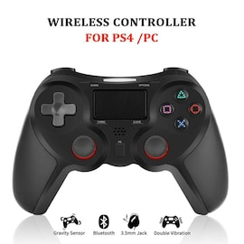 Bluetooth Wireless Gaming Controller Gamepads Joystick For PS4 DualShock