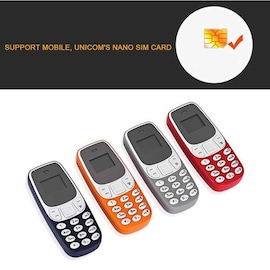 BM10 Pocket Mini GSM Mobile Phone Bluetooth Dialer Headset Cellphone Orange