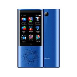 Boeleo W1 Voice Translator Smart Business Travel AI Translation Machine - 2.8 Inch Screen Languages (Blue)