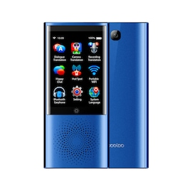 Boeleo W1 Voice Translator Smart Business Travel AI Translation Machine - 2.8 Inch Screen Languages
