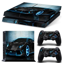 Bran New Wallpaper Skn Boy Sticker For Customise & Protect Your PlayStation Gaming Console  Dark Blue