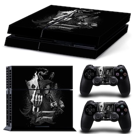 Brand New PS4 Skin Body Sticker, Wallpaper sticker & Protector for PlayStation gaming console, Black