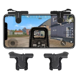 C9 Mobile Phone Gaming Fire Button Key Joysticks Game Shooter Controller 1 Pair