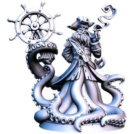 Captain Quidd - Figurka RPG