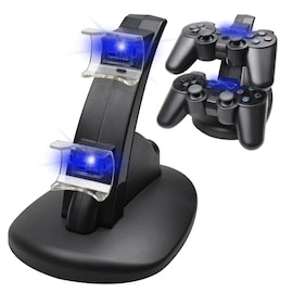 Controller Charger Dock LED Dual USB PS4 Charging Stand  USB