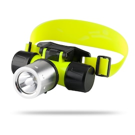 CREE T6 LED Diving Headlamp 'Nova' - 1200 Lumens, Waterproof Up To 60 Meters, Impact Resistant