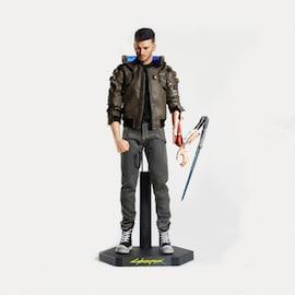 Cyberpunk 2077 Action Figure - V Male 30 cm - Black