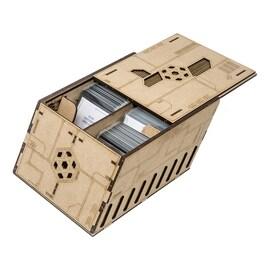 Deck holder (500 standard size sleeved cards) Crate