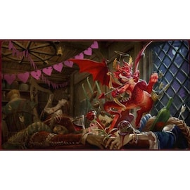 Dragon Shield - Playmat - Christmas Dragon