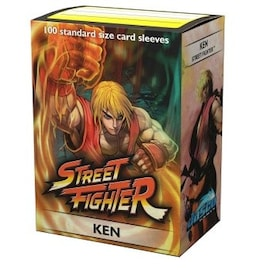 Dragon Shield - Street Fighter Sleeves - Ken (100szt.)