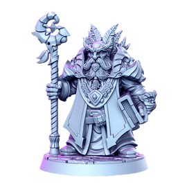 Draloth Krasnolud Druid - Figurka RPG