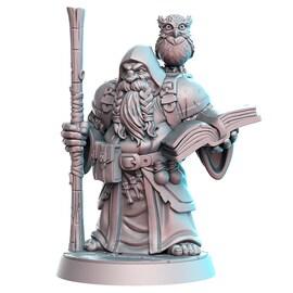 Dramnir - krasnolud, Figurka RPG