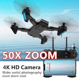 Drone professional Zoom control 4K Wide-Angle Camera Drone WIFI Dual camera 20minutes flight, 2batteries+bag