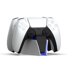 DualSense Charging Station for PlayStation 5 Controllers Type C White