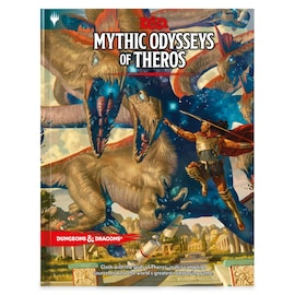 Dungeons & Dragons RPG - Mythic Odysseys of Theros
