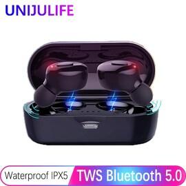 Earbuds True Wireless Headphones Bluetooth Waterproof Mini Headset 3D