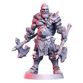 Einar - barbarzyńca, Figurka RPG