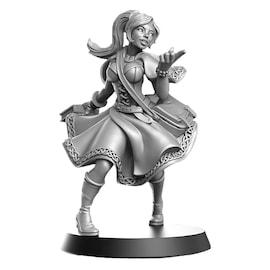 Elisa - Magiczka Tancerka - Figurka RPG