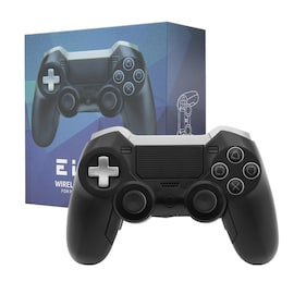 Elite BT Game Controller Wireless Bluetooth Dual Shock Vibration Joystick Built-in headphone speaker for PS4