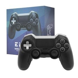 Elite BT Game Controller Wireless Bluetooth Dual Shock Vibration Joystick Built-in headphone speaker for PS4